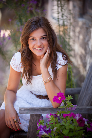 atascadero high school senior portrait photographer girl