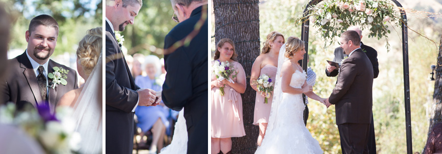 spanish oaks wedding, country wedding california
