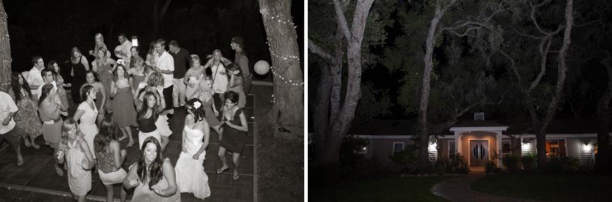 reception dancing atascadero wedding back yard