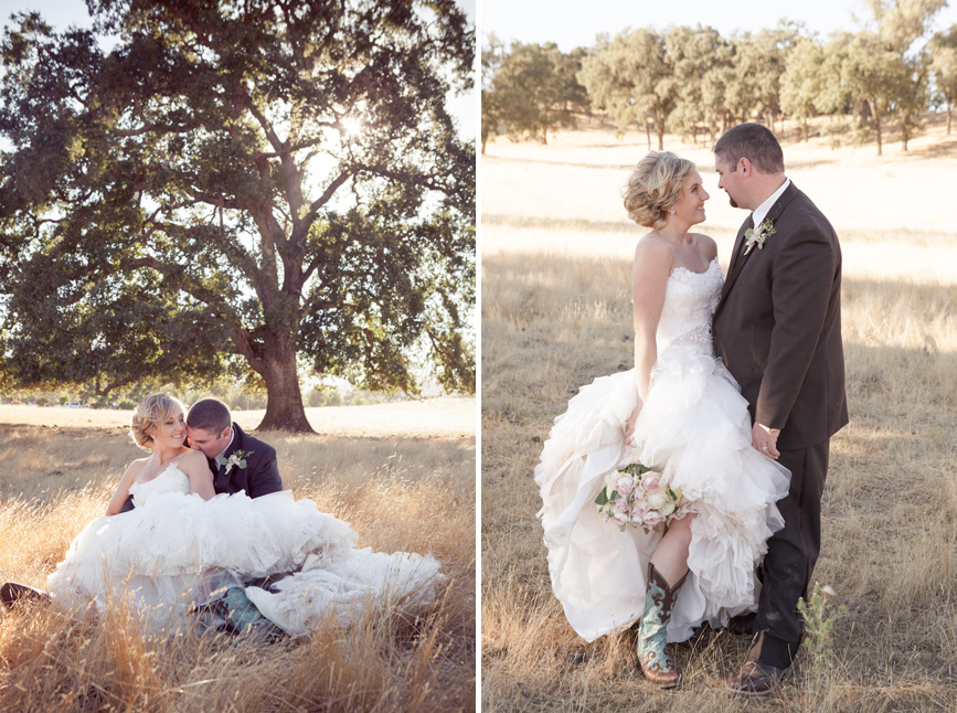 spanish oaks ranch wedding, san luis obispo california wedding, country bride